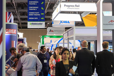 Middle East Rail exhibition