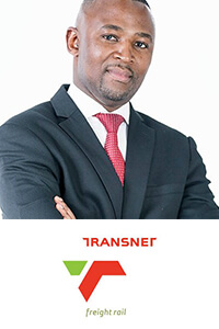 Brian Monakali at Middle East Rail 2019