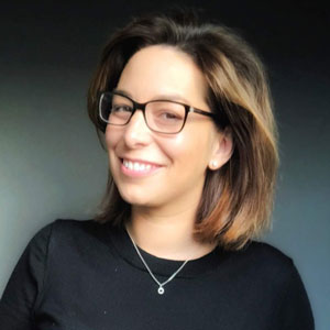 Georgina Smallwood speaking at MOVE 2021