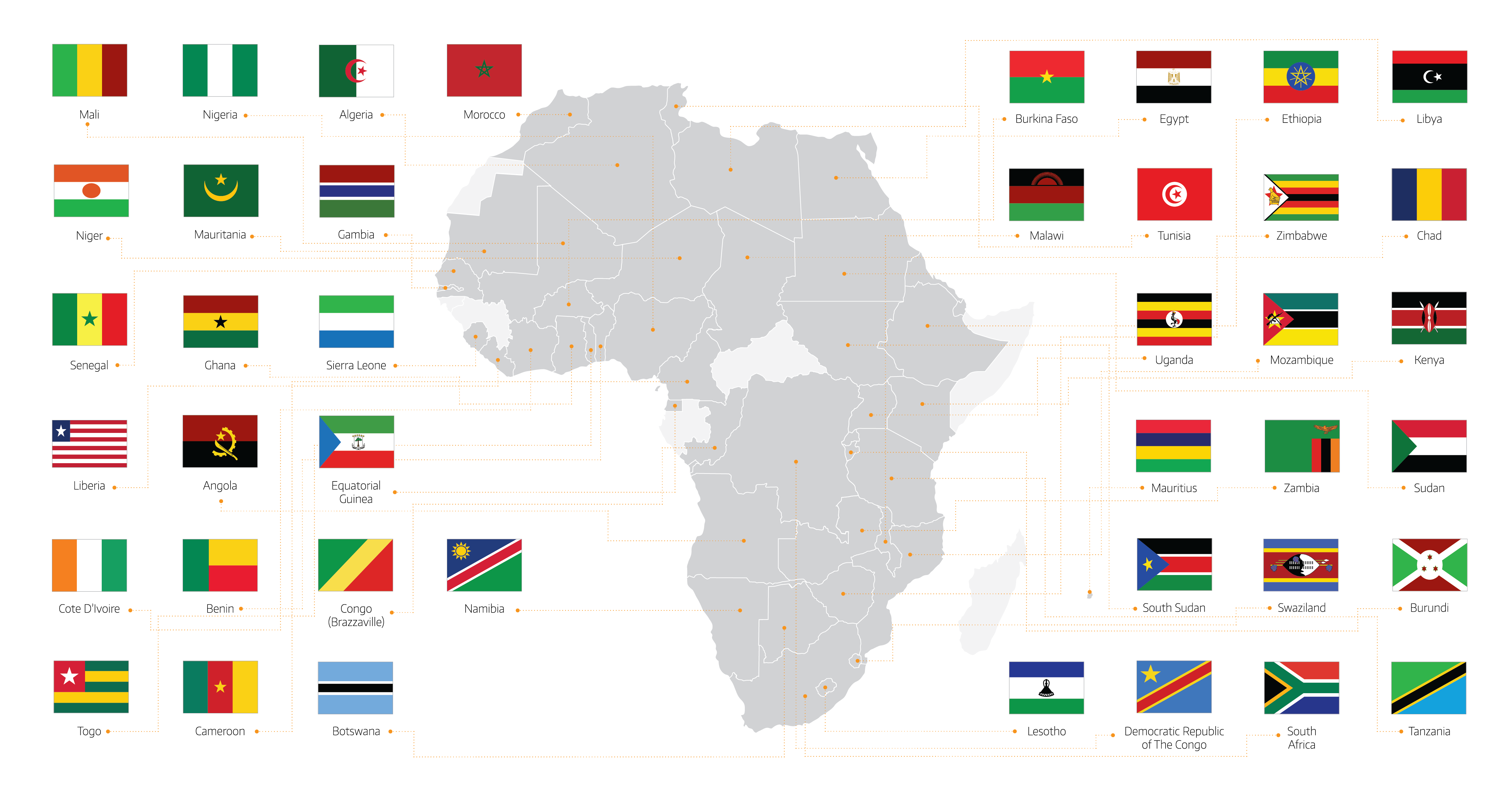 40 African Countries attending Power & Electricity World Africa