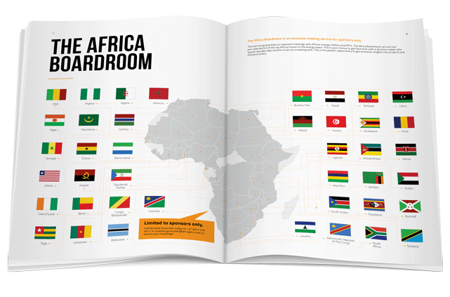 Power & Electricity World Africa exhibition brochure