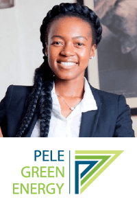 Fumani Mthembi at Power & Electricity World Africa