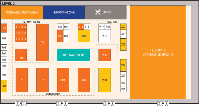 Power & Electricity World Philippines 2018 floorplan