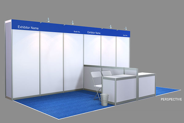 Exhibition Booth Standard Shell Scheme : Book your booth seamless asia