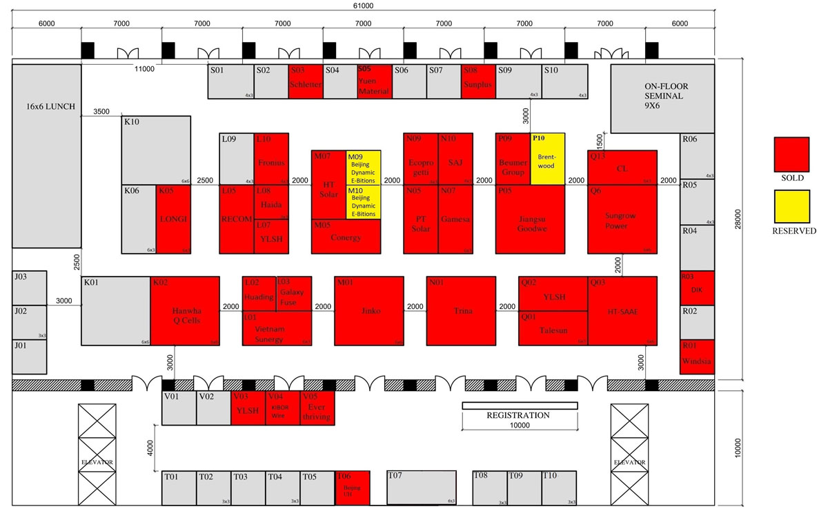 Power & Electricity World Vietnam 2018 floor plan