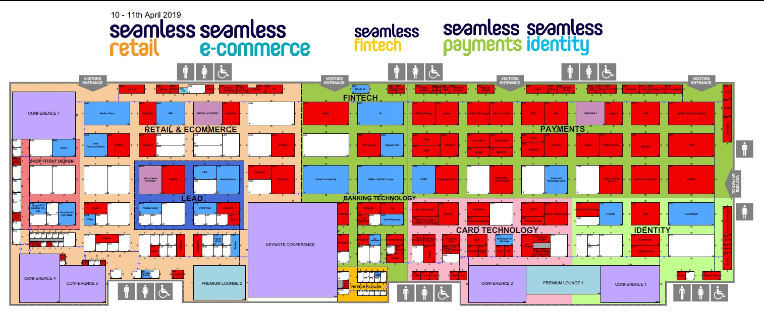 Seamless Middle East Floorplan