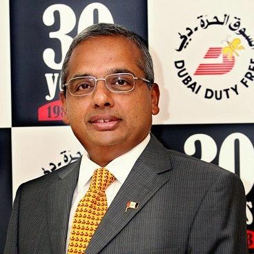 Ramesh Cidambi, COO, Dubai Duty Free