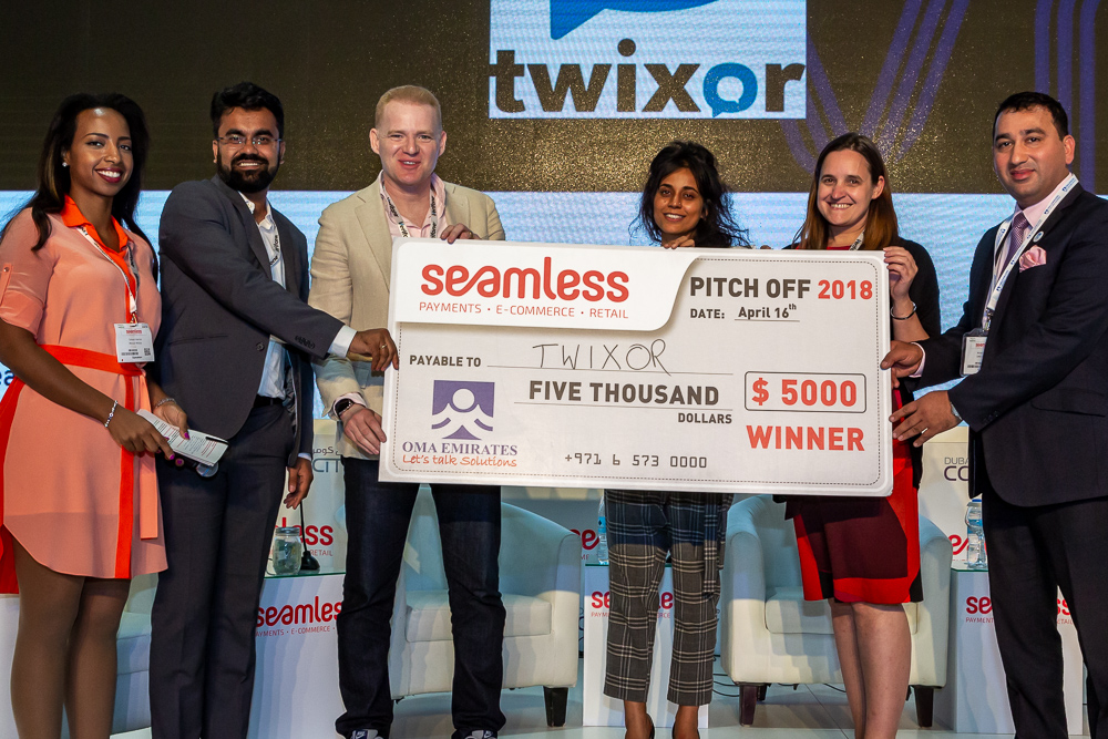 Seamless Start-up Pitch-off Winner