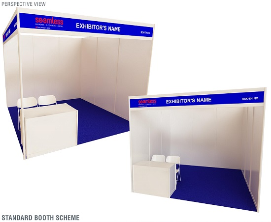 Exhibition Booth Standard Shell Scheme : Book your booth