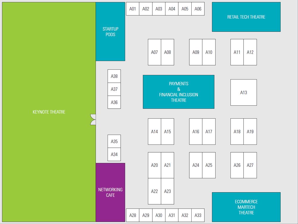 Seamless Thailand 2019 floor plan