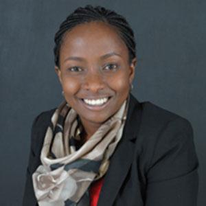Lois Gicheru speaking at The Solar Show Africa