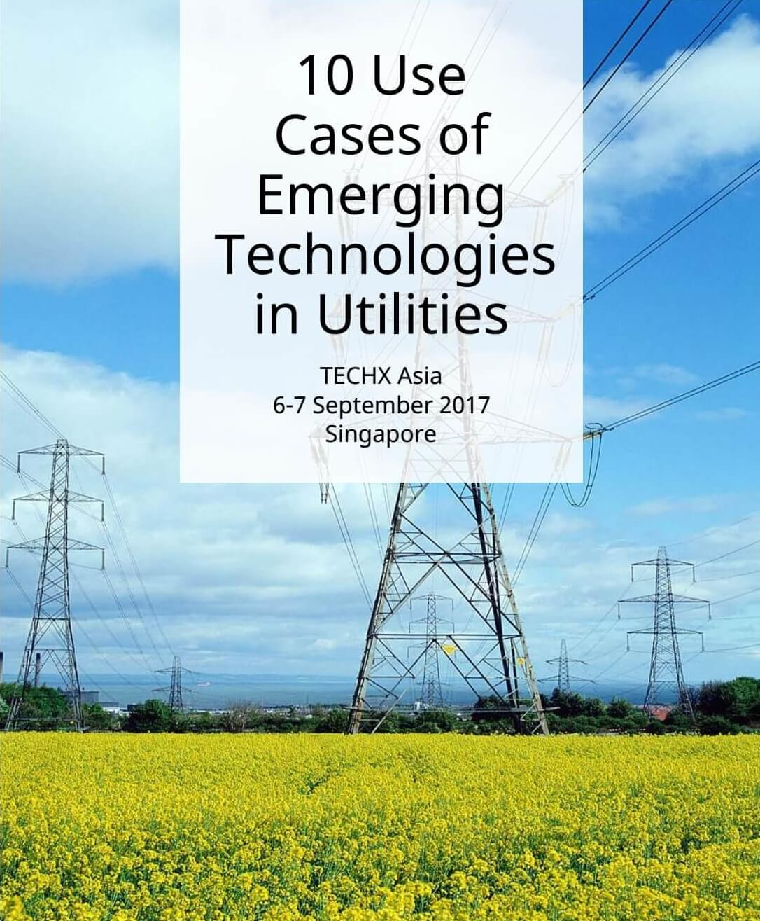 Download TECHX Asia 2017 Ebook on Emerging Technologies use case in logistics ebook
