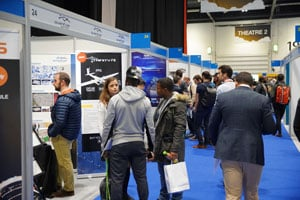 Commercial UAV Show exhibition