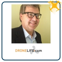 Harry McNabb at The Commercial UAV Show 2019