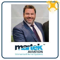 Mark Wharry at The Commercial UAV Show 2019