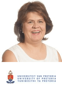 Dr  Christine Maritz-Olivier speaking at The Vet Expo Africa