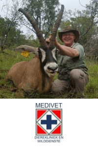 Dr  Louis Greeff speaking at The Vet Expo Africa