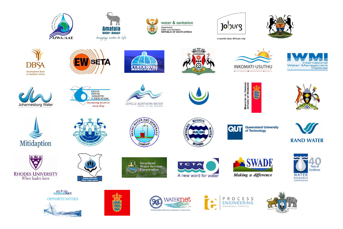 Lepelle water, African water association, amatola water, joburg water, randwater, water buyers