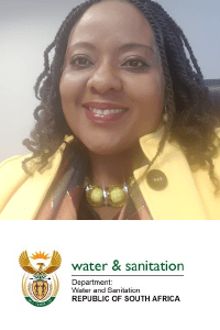 Zanele Mupariwa speaking at The Water Show Africa