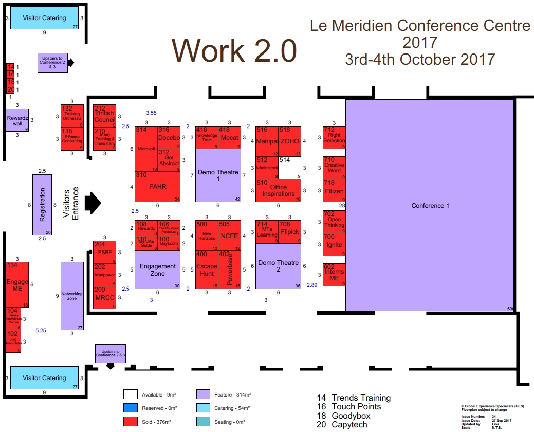 floorplan work2.0 training & development show learning at work conference