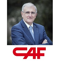 Andres Arizkorreta | Chairman & CEO | CAF » speaking at Rail Live