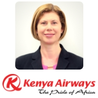 Clare Ward, Chief Information Office, Kenya Airways