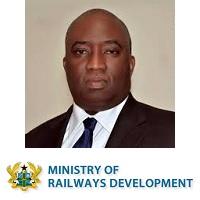 Joe Ghartey | Minister | Ministry of Railways Development of Ghana » speaking at Rail Live
