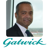 Abhi Chacko | Head Of I.T.Commercial And Innovation | Gatwick Airport » speaking at Aviation Festival
