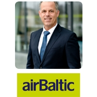 Martin Gauss | Chief Executive Officer | Air Baltic » speaking at Aviation Festival
