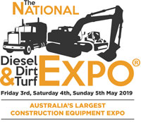 The National Diesel Dirt & Turf Expo at National Roads & Traffic Expo 2019