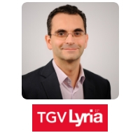 Fabien Soulet | Chief Executive Officer | TGV Lyria » speaking at World Rail Festival