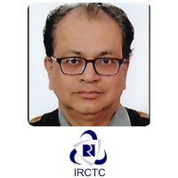 Sandip Trivedi | Group General Manager It Projects | I.R.C.T.C » speaking at World Rail Festival