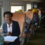 Mesela Nhlapo   CEO   RailRoad Association » speaking at Africa Rail