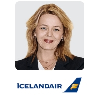 Birna Osk Einarsdottir, Chief Commercial Officer, Icelandair