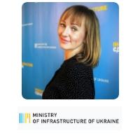 Iryna Koshel, Acting Head Of Reform Support Team, Ministry of Infrastructure, Ukraine