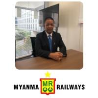 Ba Myint, Managing Director, Myanma Railways