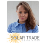 Aleksandra Klassen | Business Development | Solar Trade Association » speaking at Solar & Storage Live
