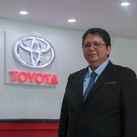 Noe Pante | Assistant Vice President, Production Engineering Department | Toyota Motor Philippines Corporation » speaking at Future Energy Philippines