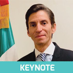 Minister Jorge Alvarez | Minister Representative to the United States | Ministry of Finance, Mexican Embassy » speaking at connect:ID