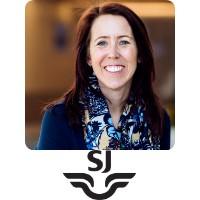 Jenny Gejke, Head Of Digital Channel Development, Swedish Rail