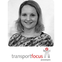 Louise Coward | Head of Insight | Transport Focus » speaking at World Rail Festival