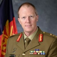 Major General Marcus Thompson, Head Information Warfare, Department of Defence