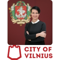 Egle Radvile | Chief Technology Officer | Vilnius city municipality » speaking at World Rail Festival