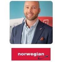 Eivind Weldingh Christiansen | Senior Vice President Digital Innovation | Norwegian Air Shuttle » speaking at World Aviation Festival