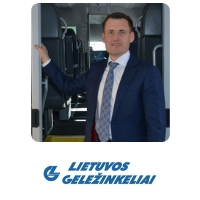Linas Bauzys | Chief Executive Officer, Passenger Rail | Lithuanian Railways » speaking at World Rail Festival