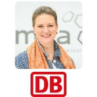 Stefanie Brickwede, Head Of Additive Manufacturing, Deutsche Bahn
