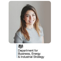 Aimee Betts-Charalambous | Technology Innovation Lead | Department for Business, Energy & Industrial Strategy » speaking at Solar & Storage Live