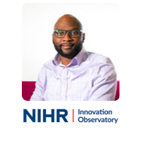Dapo Ogunbayo, Programme Manager - Healthcare Innovations (Pharmaceuticals), NIHR Innovation Observatory, Newcastle University