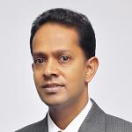 Mr Damitha Kumarasinghe at The Solar Show Sri Lanka 2018