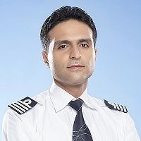 Rajeev Bhalla, Fleet Supervisor, Standards & Quality Assurance, Line Training Captain & Cadet Pilot Inductions, IndiGo